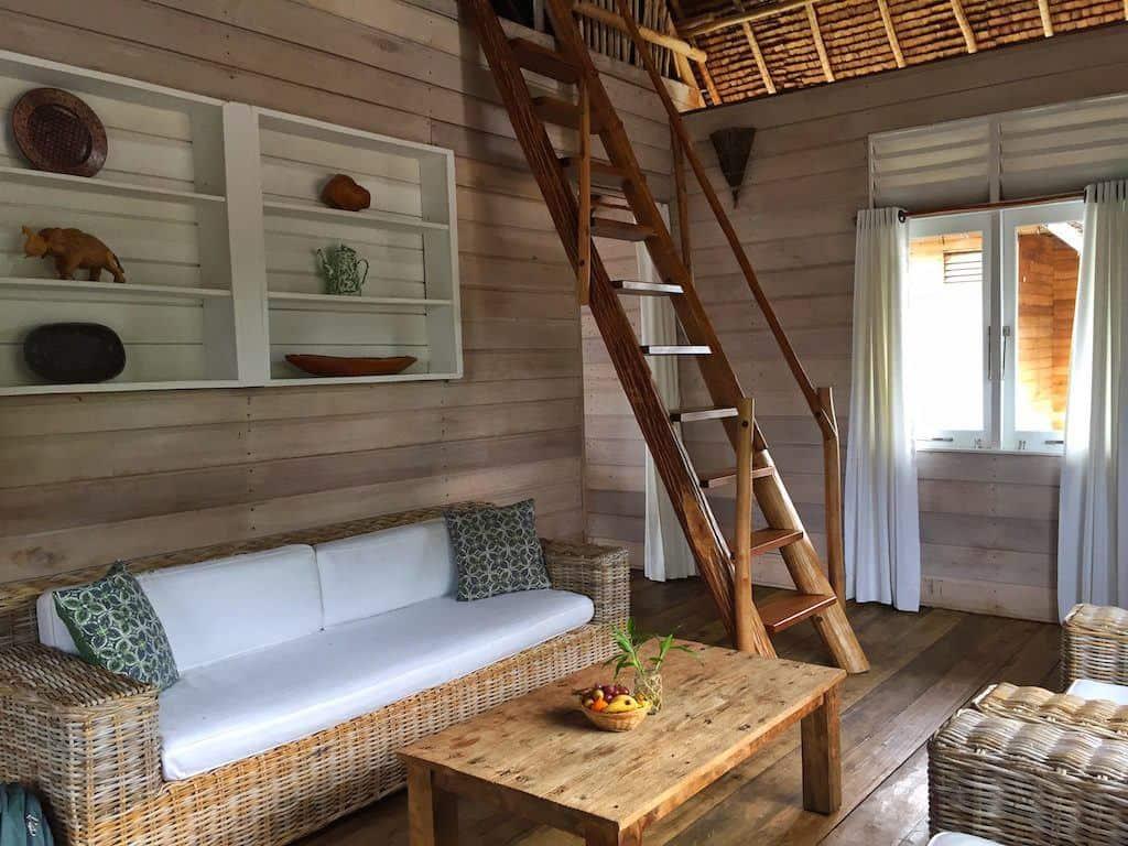 Telunas private island villa interior