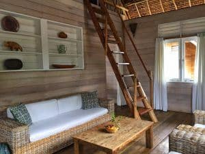 Telunas private island villa interior