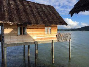 Telunas water villa