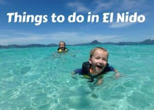 Things to do in El Nido Philippines