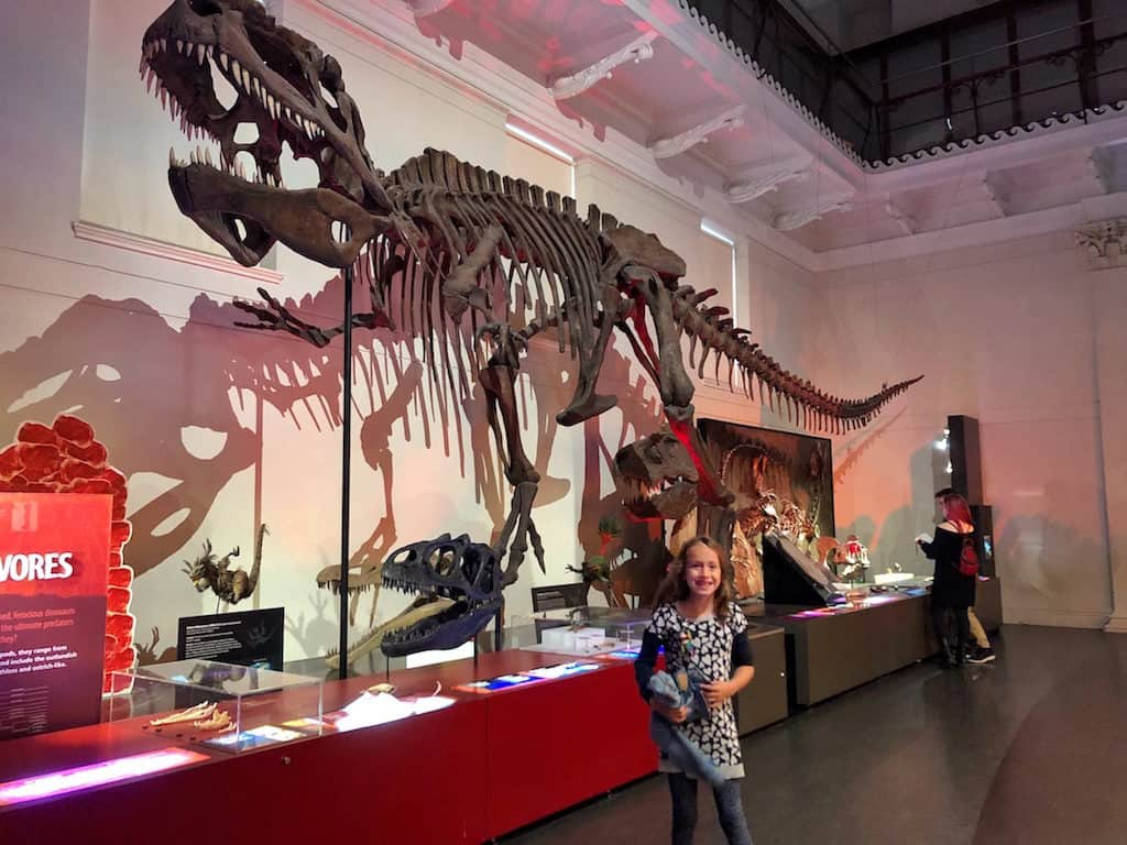 Australian Museum Sydney with kids