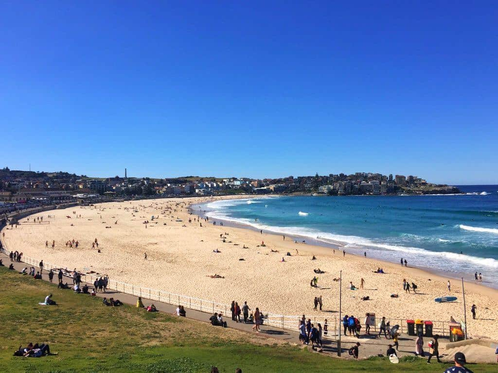 Bondi Beach Sydney with kids