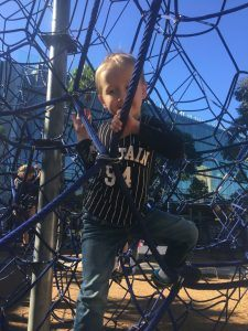 Darling Harbour playground Sydney for kids