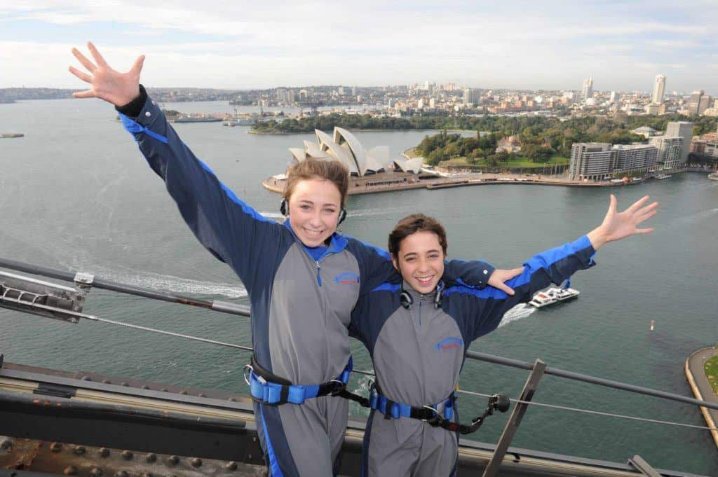 Sydney harbour bridge climb for kids
