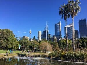 Botanic Gardens family activities sydney