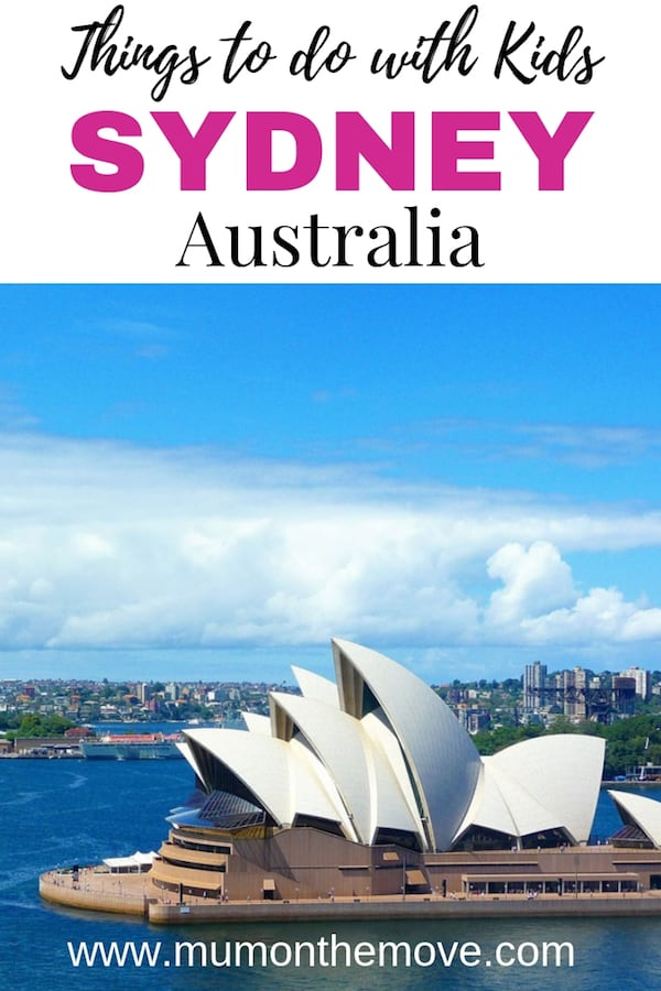 Sydney things to do with kids