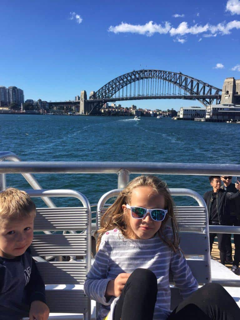 Whale Watching Sydney with kids
