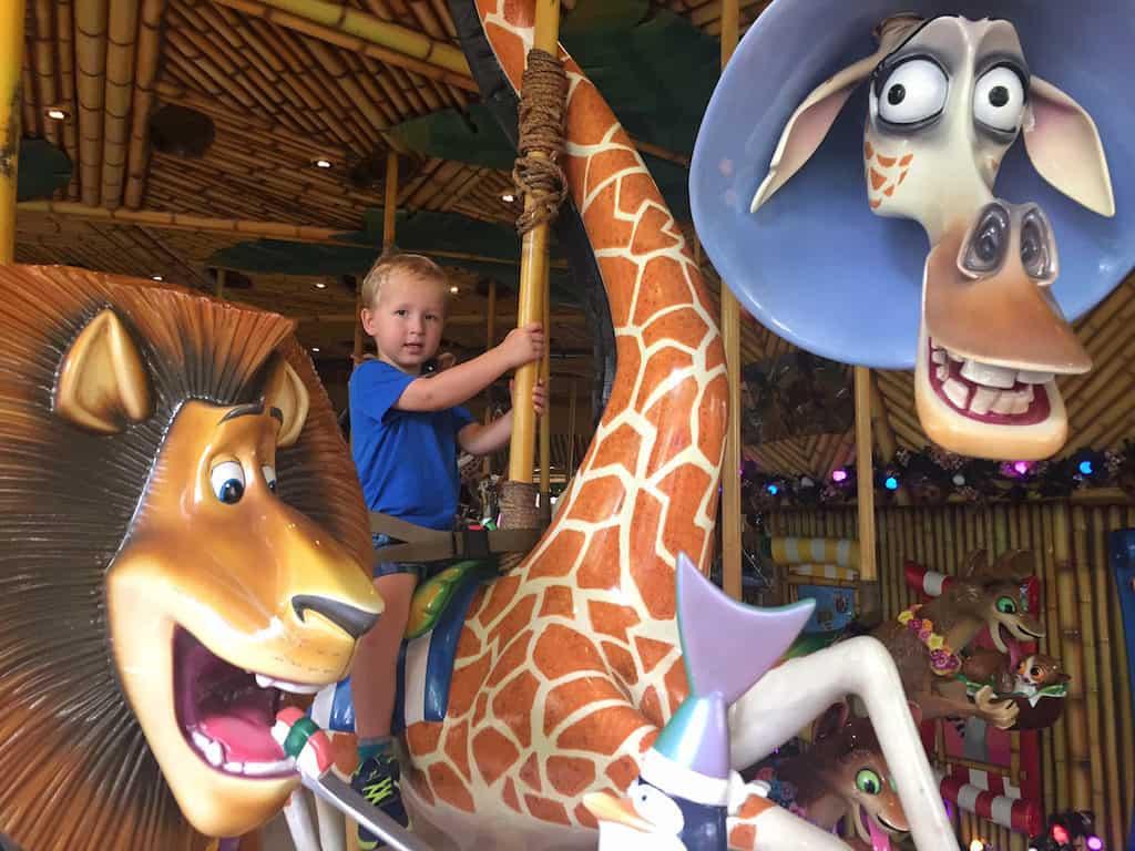 Universal Studios Singapore with kids