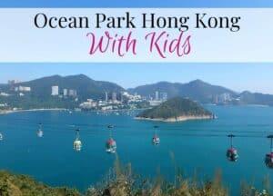Ocean Park with kids