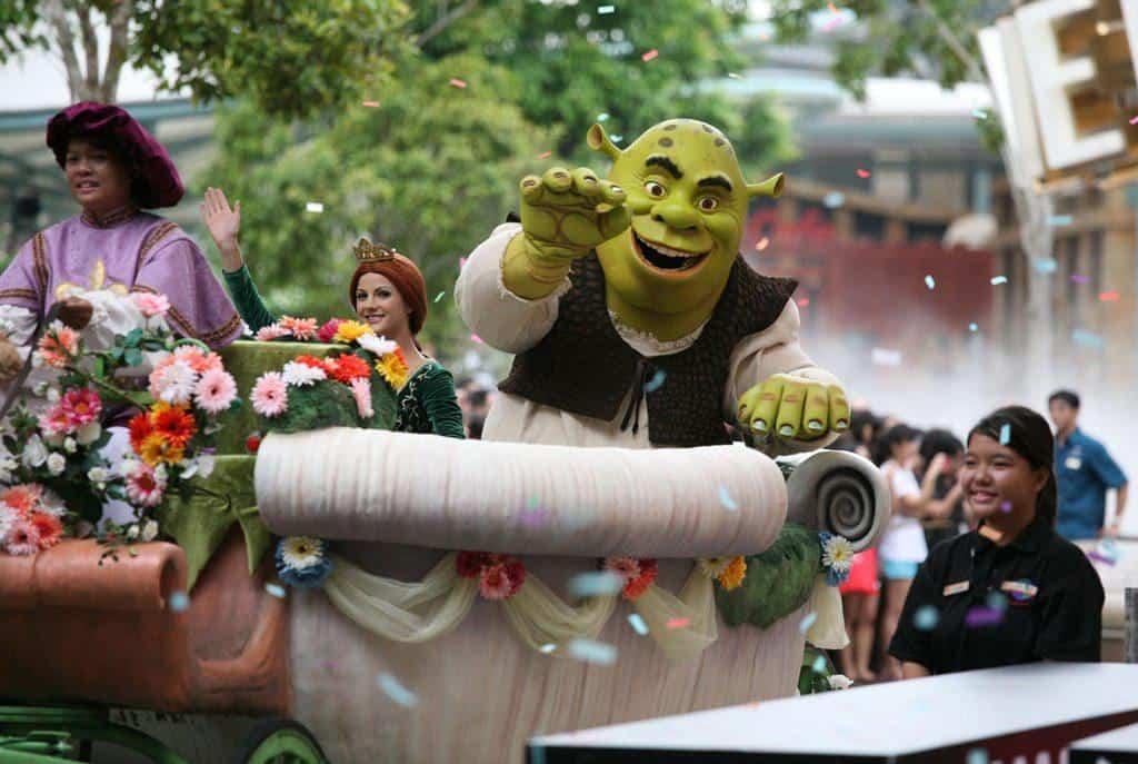 Universal Studios Singapore parade