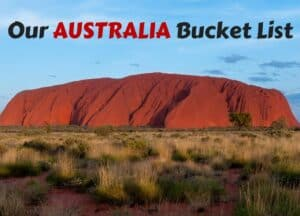 Our Family Australia Bucket List