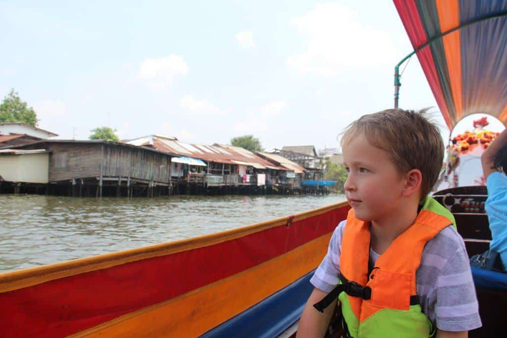 Bangkok canal boat tour