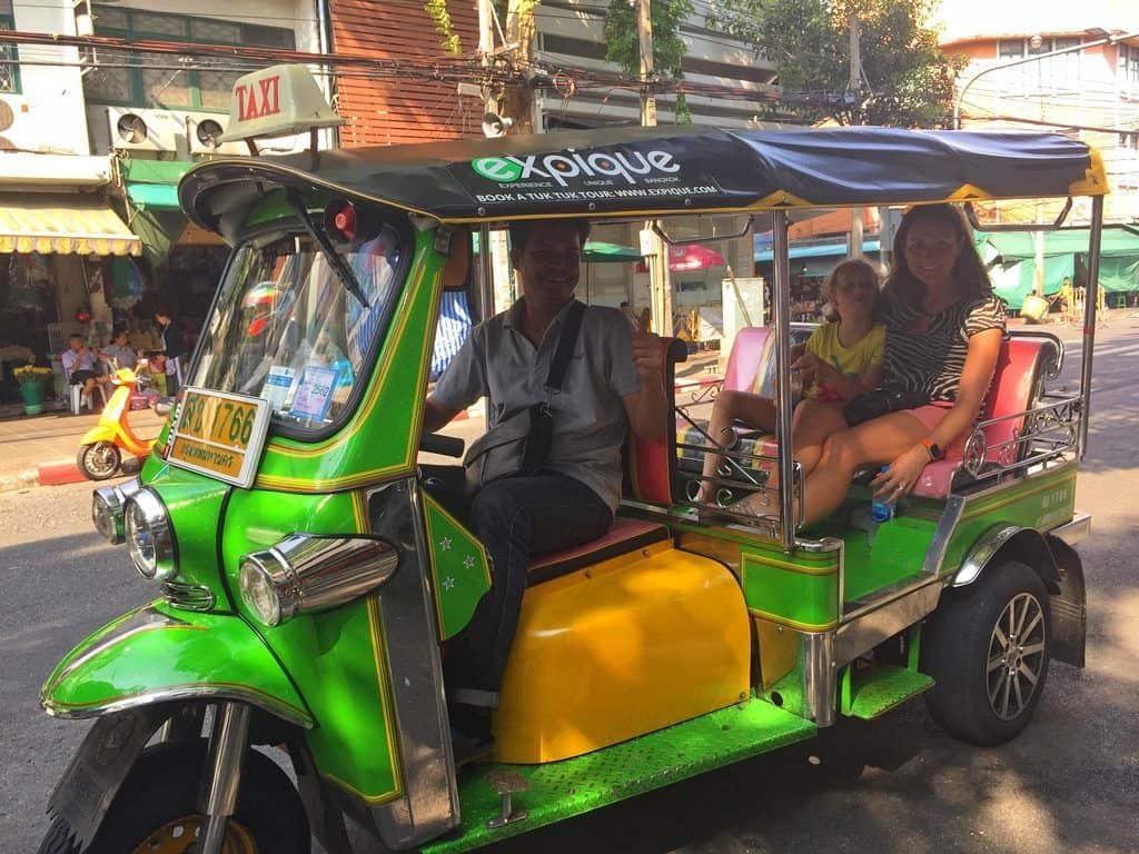tuk tuk and canal tour bangkok mum on the move. Black Bedroom Furniture Sets. Home Design Ideas