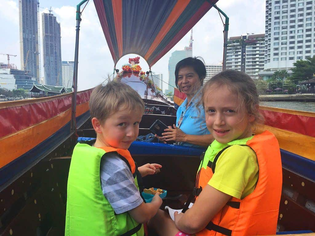 Chao Praya River boat tour