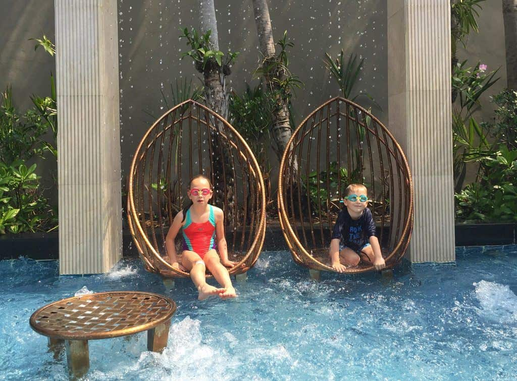 Sofitel Bangkok swimming pool