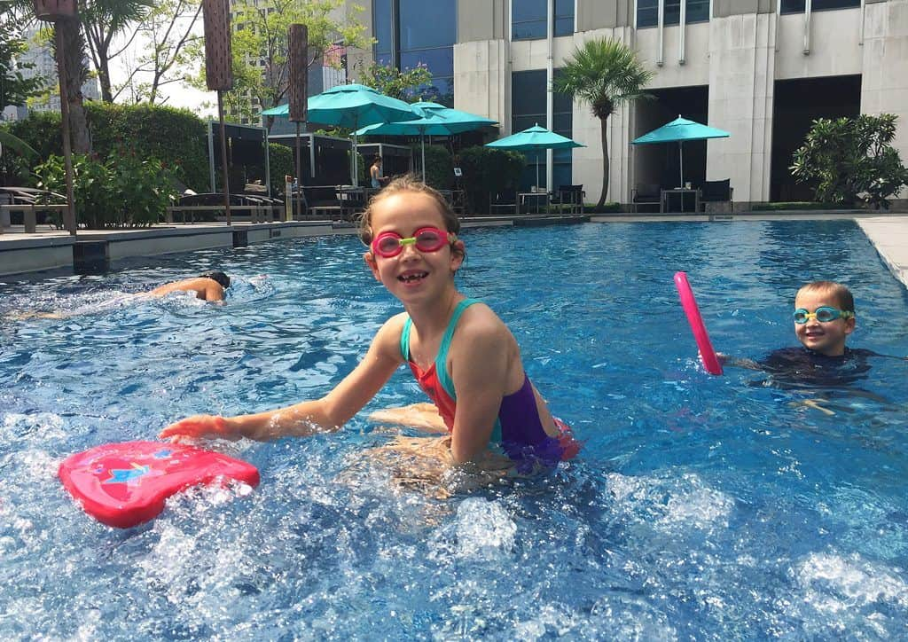 Sofitel Bangkok Sukhumvit swimming pool