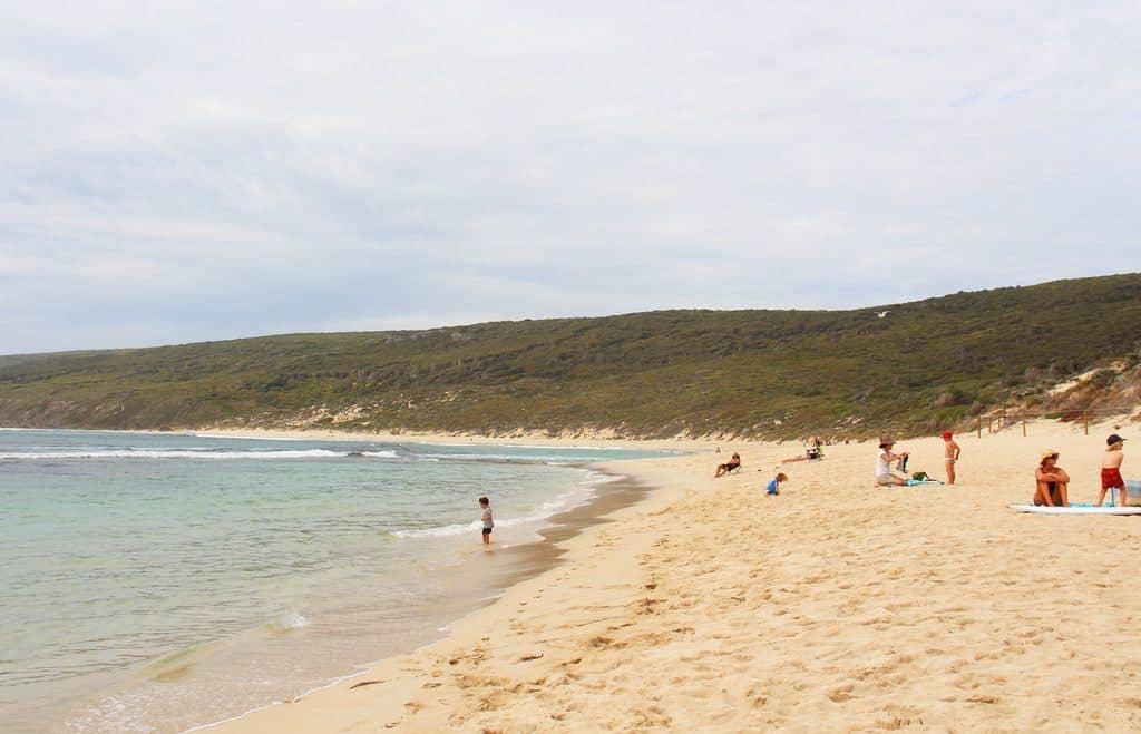 Yallingup beach margaret river