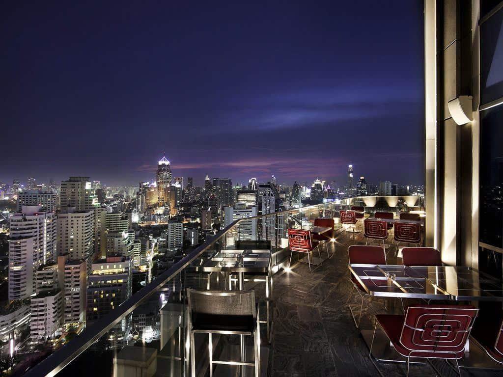 Sofitel Bangkok rooftop bar