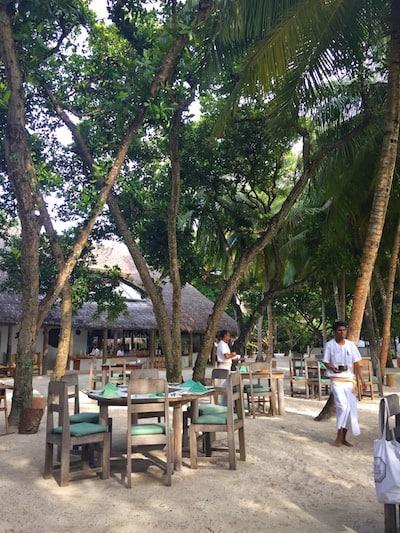 Maldives breakfast soneva fushi