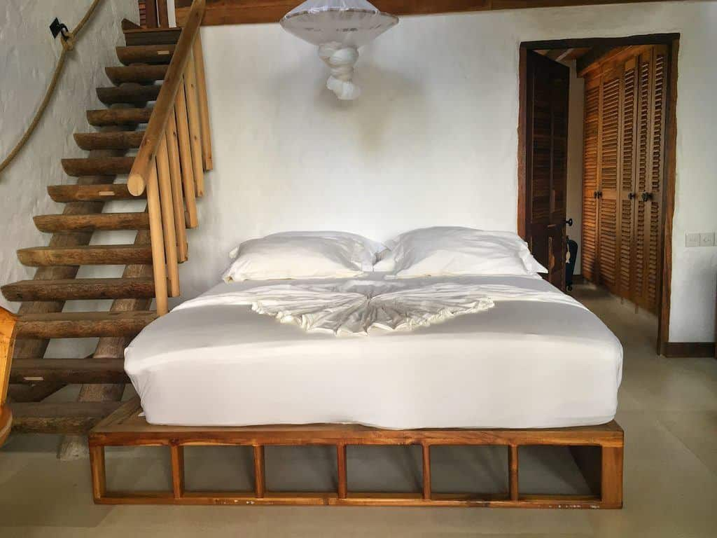Soneva Fushi bedroom