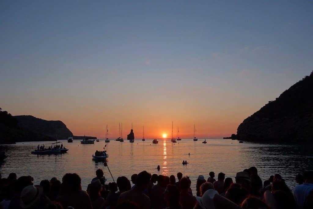 Benirras Beach Ibiza Sunset