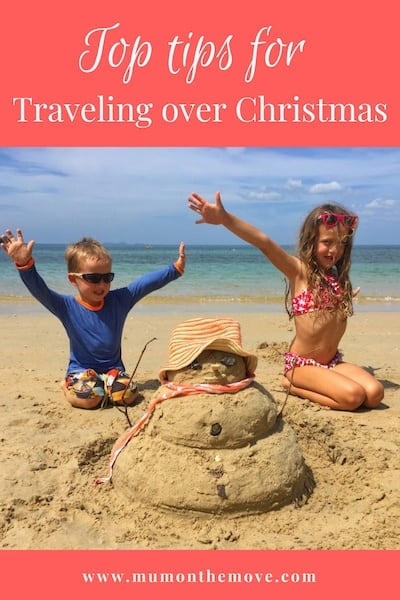 Traveling at Christmas with Kids