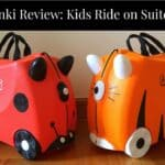 Trunki Review: Kids ride on suitcase