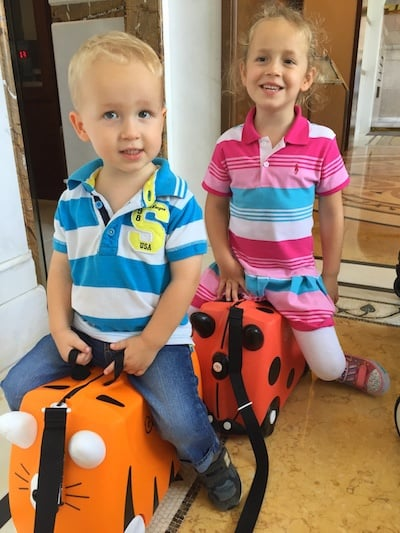 kids ride on suitcase