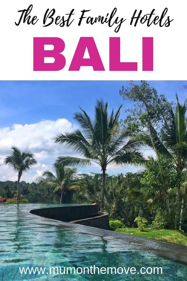 Bali family hotels