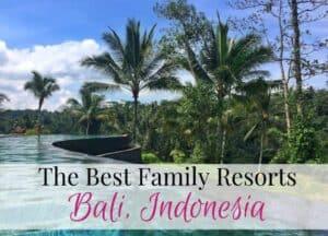 Best Bali family resorts