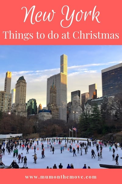Things to do in New York at Christmas