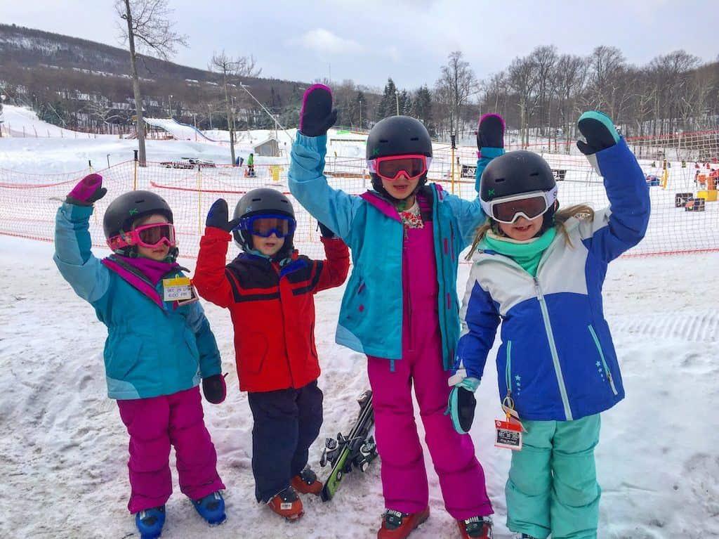 Camelback Mountain skiing