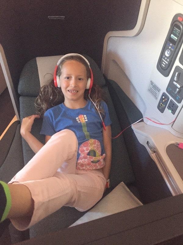 kids headphones on plane