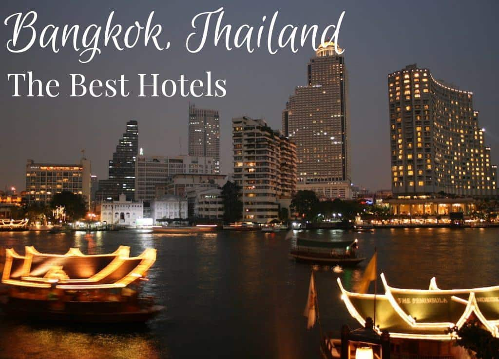 Best hotels in Bangkok Thailand