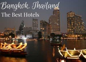 Best hotels in Bangkok Thailand