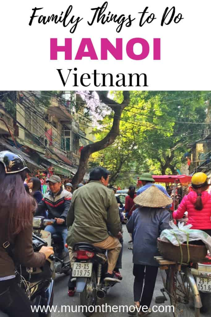 Things to do with kids in Hanoi