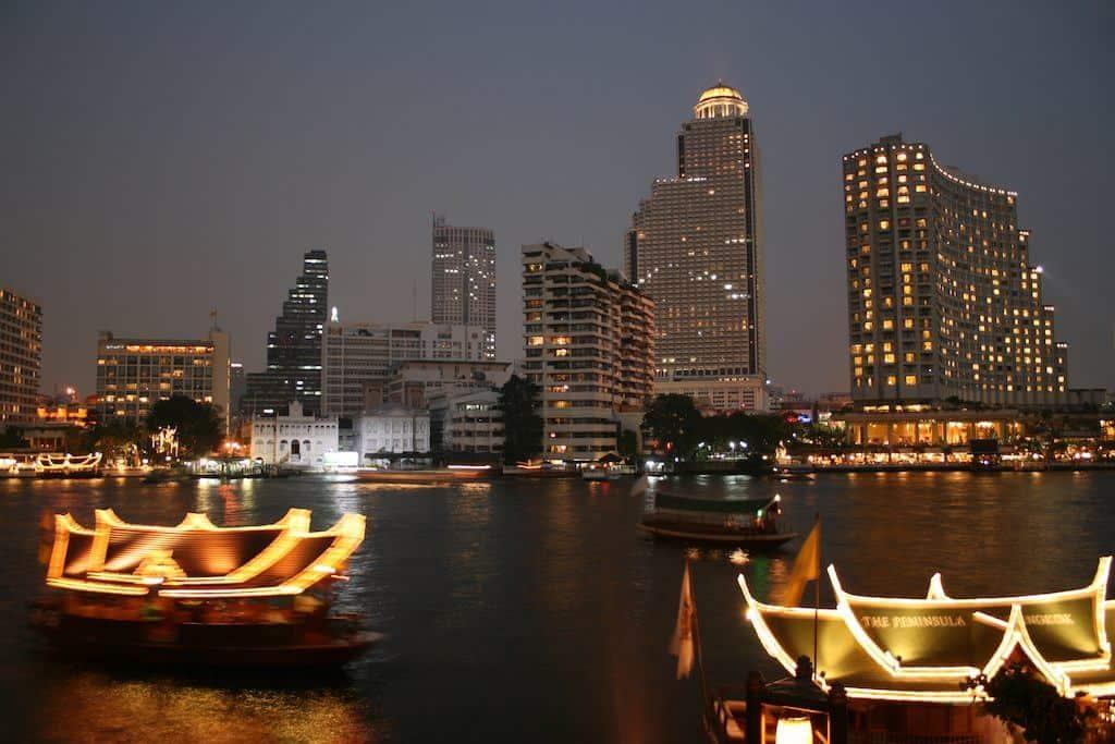 Peninsula Bangkok riverside hotel