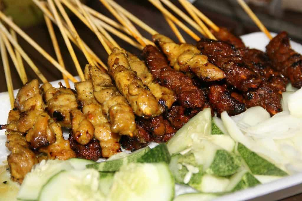 Satay singapore famous food