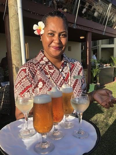 Outrigger Fiji staff