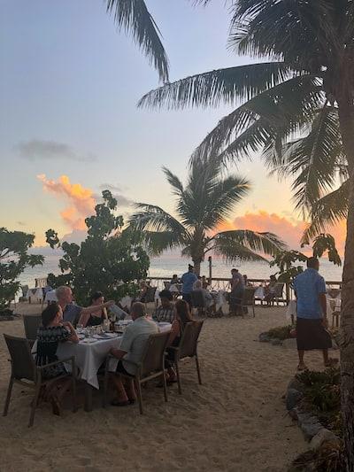 Castaway Island 1808 restaurant