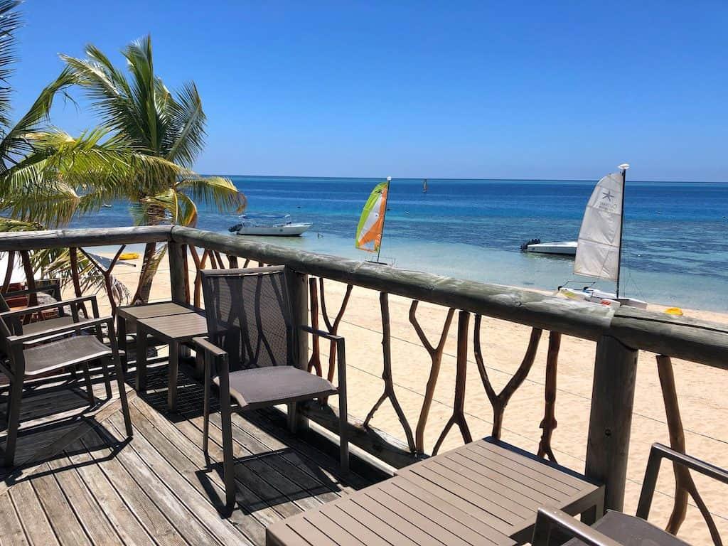 Castaway Island Sundowner bar