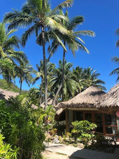 Island bure Castaway Fiji