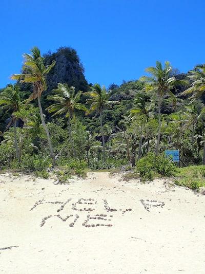 Modriki Island aka Tom Hanks Castaway Island