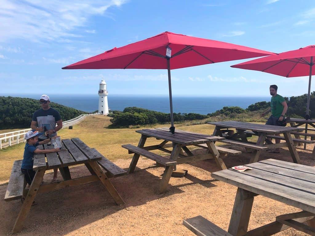 Cape Otway Lighthouse cafe