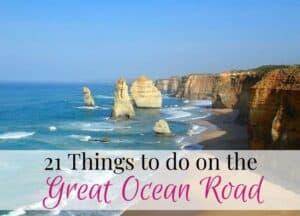 Great Ocean Road things to do