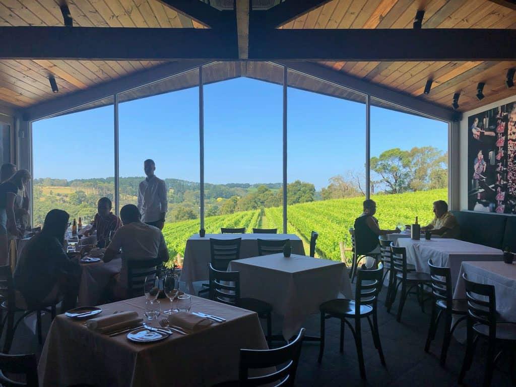 Mornington Peninsula winery restaurant
