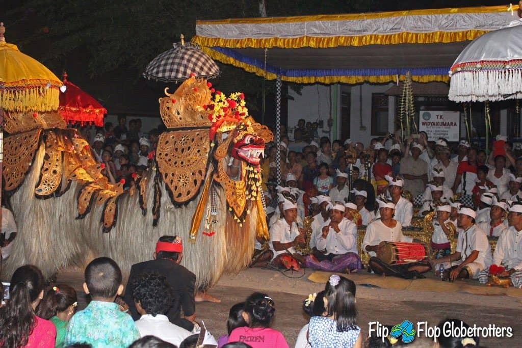 Barong Dance Bali with Kids