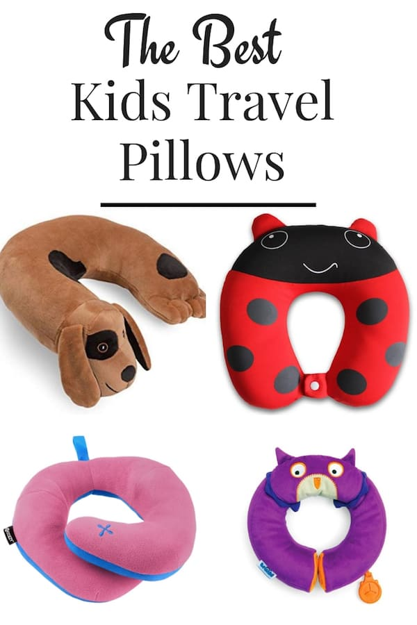 The Best Travel Pillows for Kids.