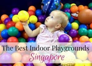 Best indoor playgrounds Singapore