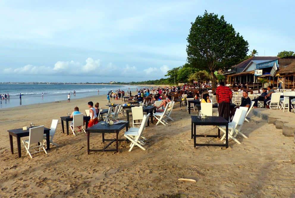 Jimbaran seafood restaurants Bali